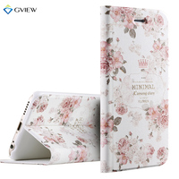 6 6s Case High Quality 3D Relief Print PU Leather Flip Cover Case For IPhone 6