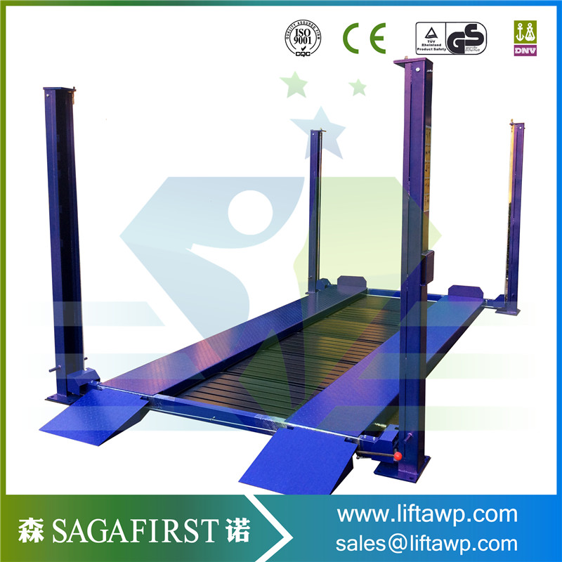Four Post Car Lift for Wheel Alignment