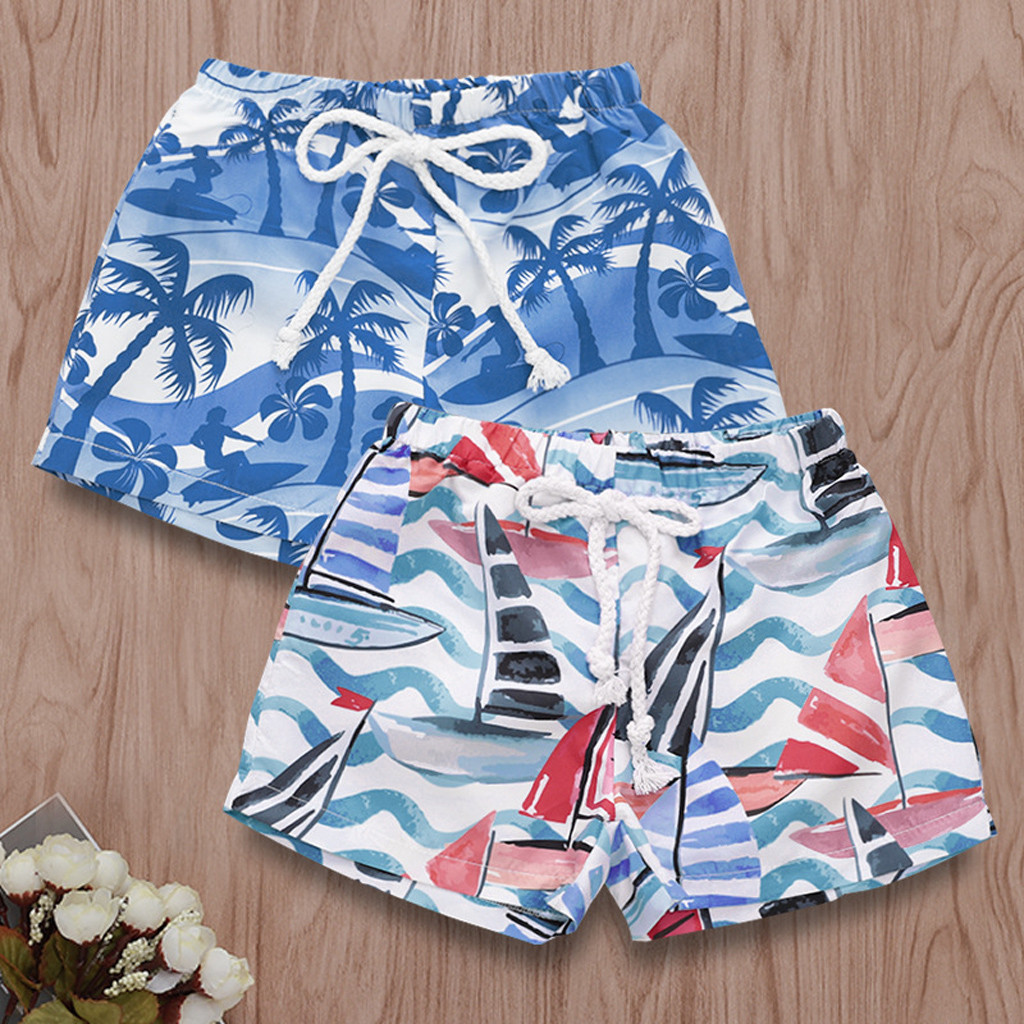Infant Boys Bermuda Swim Swimming Shorts Trunks Swimwear Summer Holidays Beach