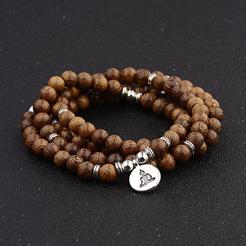266c194934f0 Hecho a mano de Plata de Ley 925 anillos Vintage para hombres tibetano seis  palabras Mantra