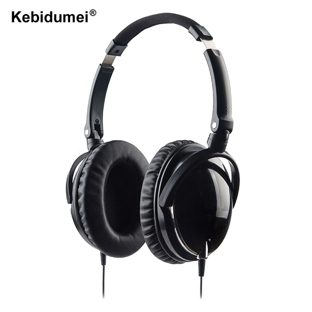 Date Aviation Bruit Annulation Casque Avec Micro Pliable Over Ear