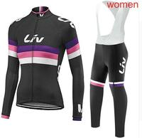 2017 New Liv Downhill Long Jersey Mountain Bike Motorcycle Cycling Jersey Crossmax Shirt Ciclismo Clothes for Women MTB T Shirt