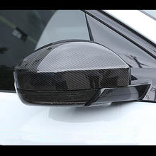 Стильная накладка на зеркало заднего вида из углеродного волокна