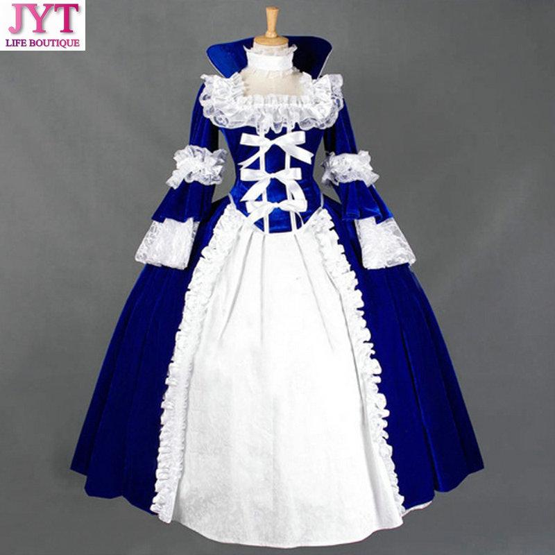 Haut de gamme fait sur commande dames gothique sorcière victorienne Halloween Lolita robe Cosplay Costume tenue Costume de beauté