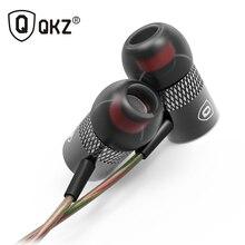 Original QKZ X3 3.5mm In-Ear Auriculares de Alta Calidad Super Clear Con Aislamiento de Ruido Auricular Mic MP3 MP4 Auriculares y Earpods