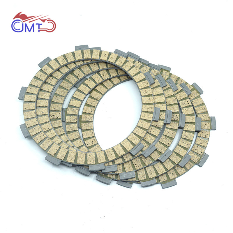 For Yamaha Vintage Motocross YZ100 1980 1982 YZ125 IT125 1980 1981 TW125 1999 2004 Clutch Friction Disc Plate Kit 5 Pieces|  - title=