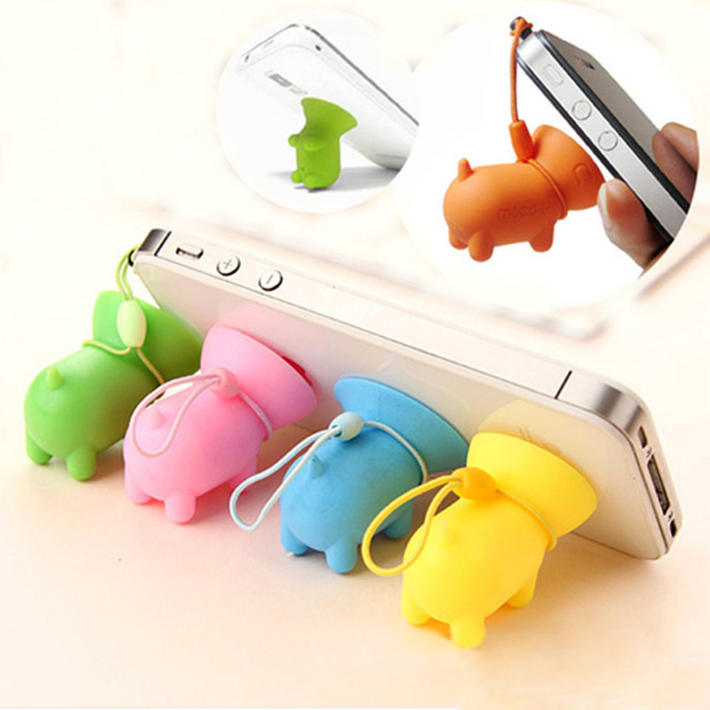Fashion Silicone Phone Holder Pig Pop Socket Universal
