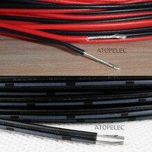 1 м 2468 UL2468 ПВХ 2 Pin 2pin Луженый Медный провод кабель Шнур для Светодиодные ленты 16AWG/18AWG/20AWG/22AWG/24AWG/26AWG/28AWG