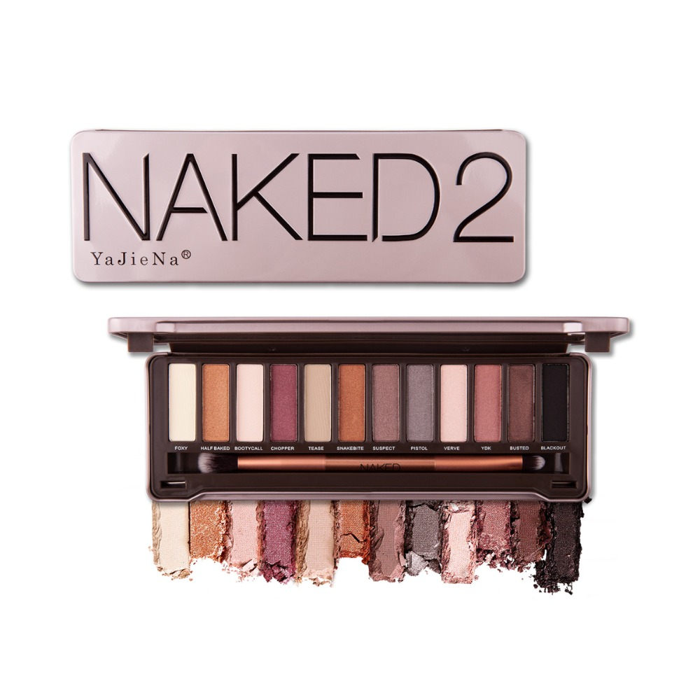 Nk 2 3 5 paleta sombra Brow Balm Brilho Paleta Maquiagem Cosméticos Fosco Natural Presente Pro 12 Despeje Cor Nude fard