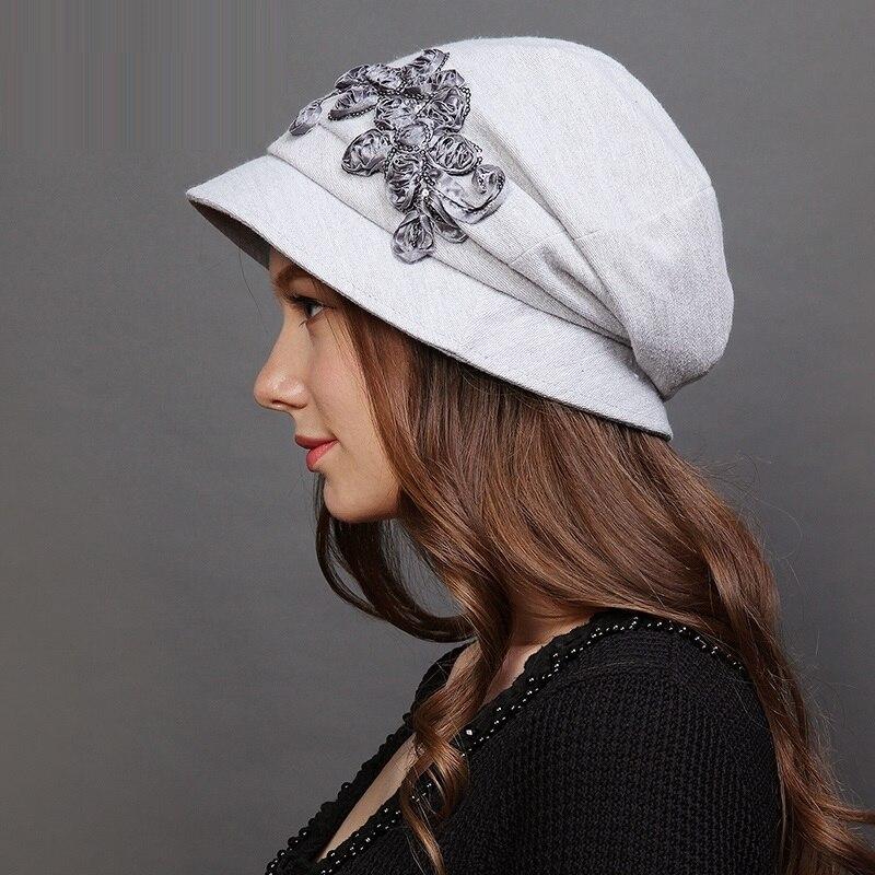Tienda Online Nueva Otoño Invierno señoras sombrero ocio tapa cuenca  plegable femenina manera del sombrero del pescador sombrero de lana  estudiantes ... 53e94acdad6