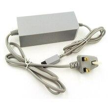 Штепсельная Вилка стандарта Великобритании, домашний настенный блок питания, зарядное устройство переменного тока, Кабель адаптер для консоли Wii
