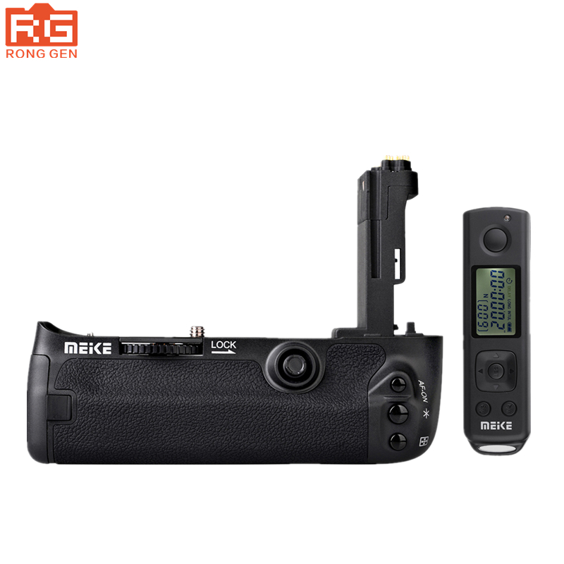 New Meike MK-5DS R Built-In 2.4G Wireless Control Battery grip Suit for Canon 5DS R 5DS 5D Mark III meike mk dr750 built in 2 4g wireless control battery grip for nikon d750 as mb d16 wireless remote