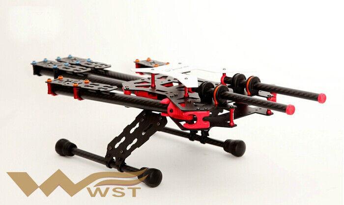 the new 550 Alien wheelbase Carbon Fiber Folding Quadcopter Frame ...