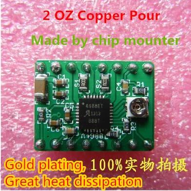 3 D printer accessory reprap A4988 stepper driver module board copper layer :70um top quality free shipping