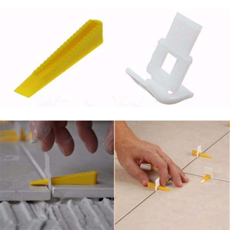 New 50pcs Mayitr High Quality Floor Wall Tile Leveler Spacers Flat Leveling System Tools thyssen parts leveling sensor yg 39g1k door zone switch leveling photoelectric sensors