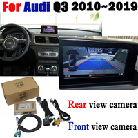 Reverse Camera Interface Adapter Connect Original Screen Monitor For Audi Q3 2010 2018 MMI Decoder CCD Night Fr Rear View Camera