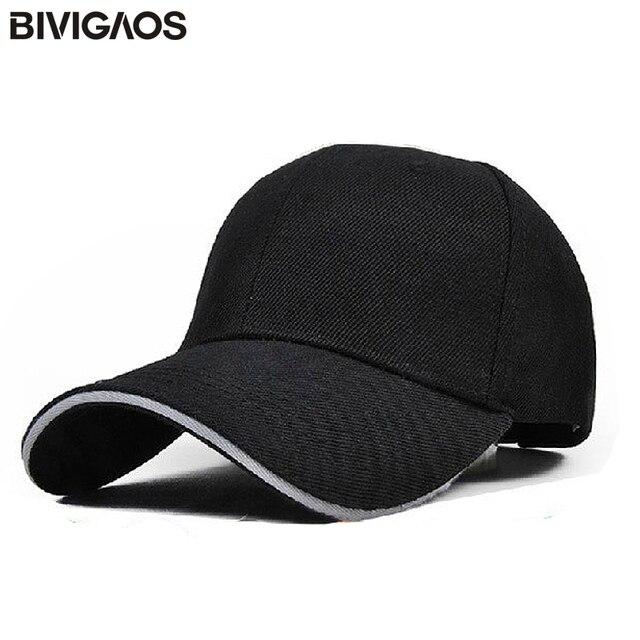 29f06f533fea4 Gorras de béisbol en blanco de Color sólido de moda 30 gorras de publicidad  personalizadas gorras