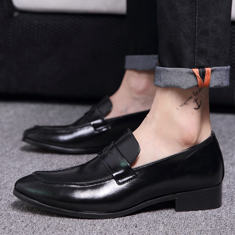 rouge Main Robe Richelieu Classique En 558 Masorini Mocassins De Bureau Des Mode marron Ww Party Hommes Chaussures Business Noir Cuir xwnnFH0Bq
