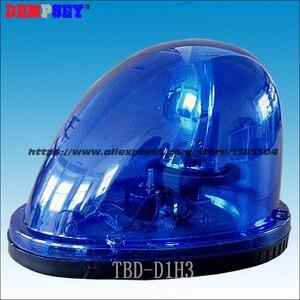Darmowa wysyłka, TBD-D1H3, halogenowe obrotowe Beacon dla samochodu, pogotowia policji/rotator samochodowy 30 W, DC12V, instalacja magnetyczna, wodoodporna