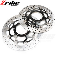 For Paired Motorcycle Accessories Front Motorcycle Disc Brake Rotor For HONDA CB1300 2003 2010 CBR600 2003