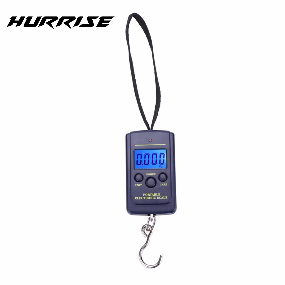 40kg Mini Digital Scale For Fishing Luggage Travel Weighting Steelyard Hanging Electronic Hook Scale Fishing Weight Tool