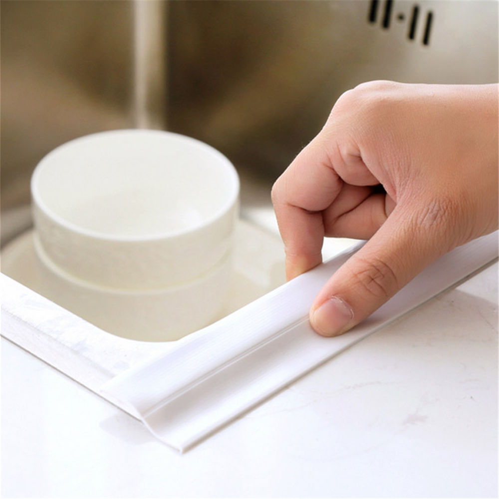 Waterproof Wall Caulk Strip Kitchen Sink Tile Crack Repair Mildew ...