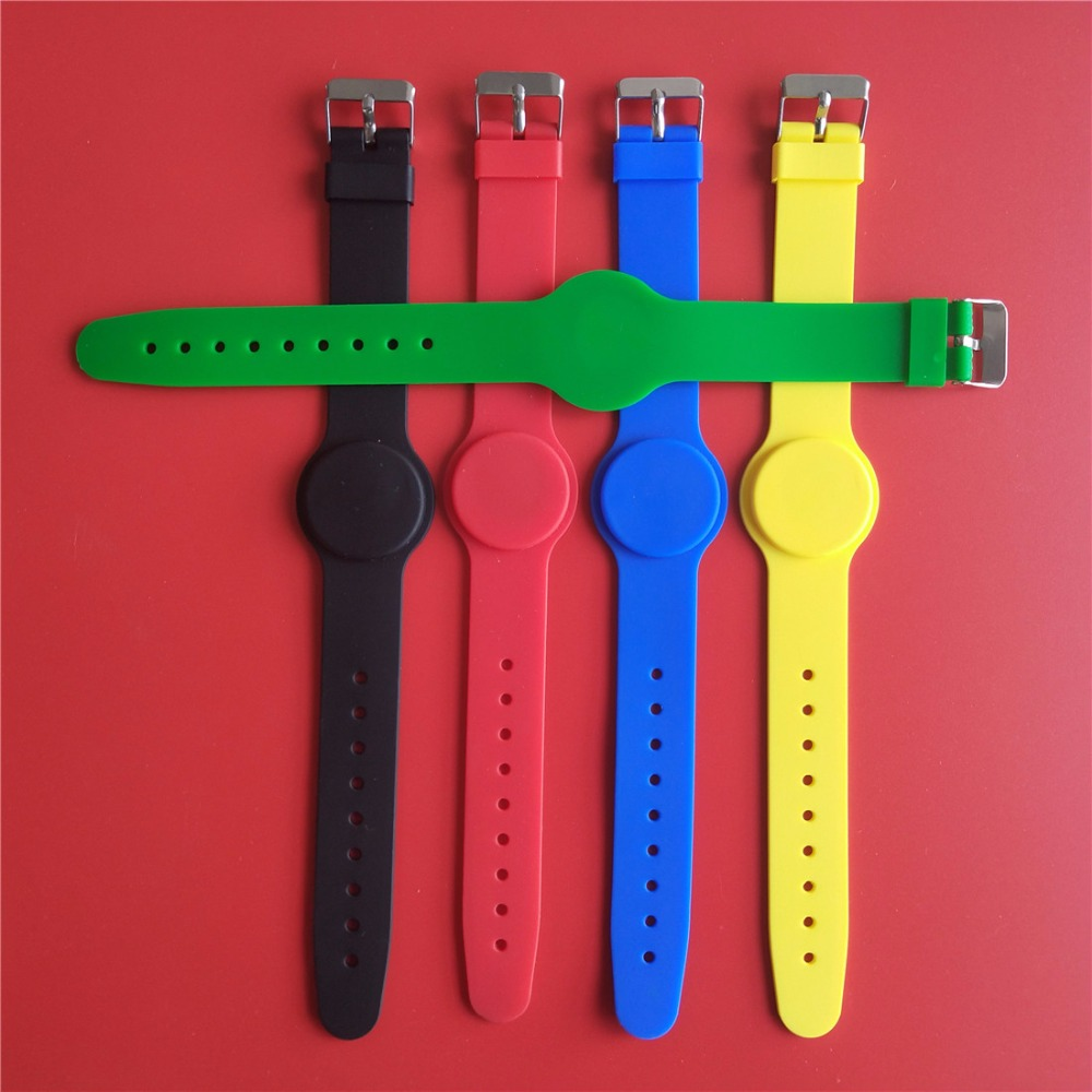 RFID Waterproof 125KHz ID EM4100 Watch Wristband Bracelet Access Control Read Only ID Card - 10Pcs rfid 125khz wristband with em chip waterproof abs bracelet for access control swimming pool fitness suana water park 100pcs lot