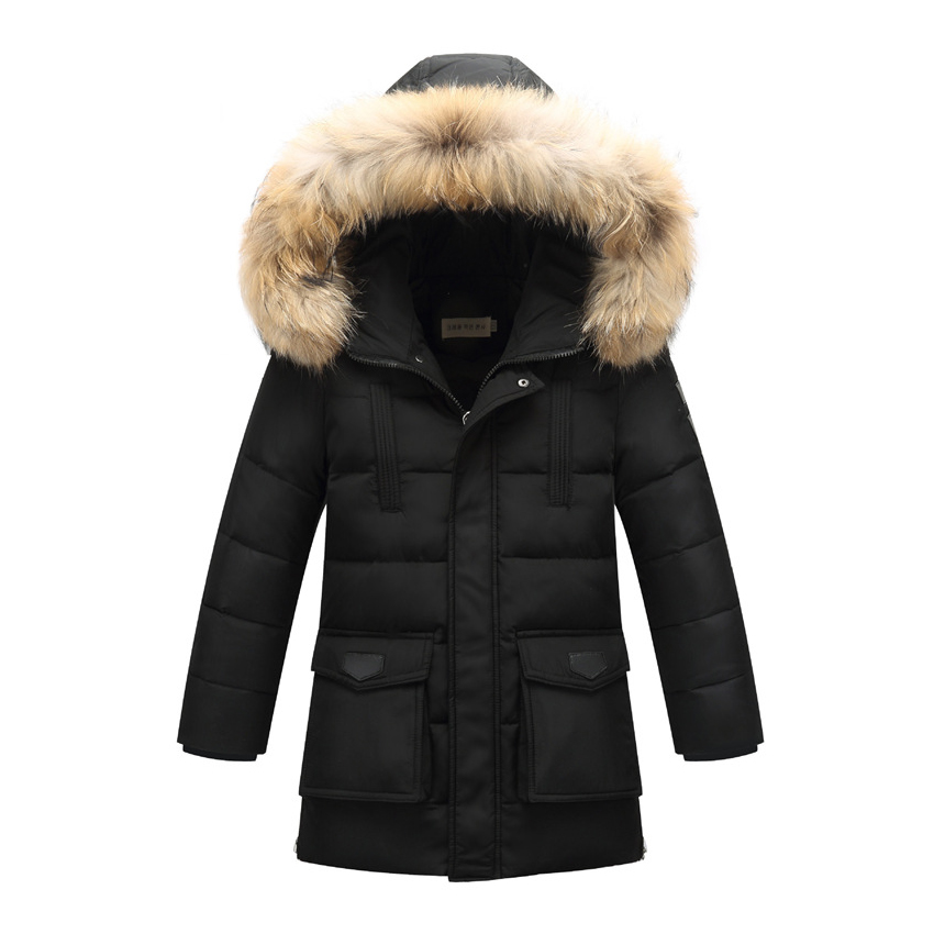High Quality 2016 Winter Kids Down Jacket For Boy Children Boys Long Parka Jacket Thick Boys Winter Coats C10 high quality children down coats 2017