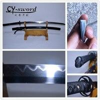 Ручной работы настоящая глина закаленное Honsanmai лезвие японский стиль катана меч нож высокого качества коллекционные подарки