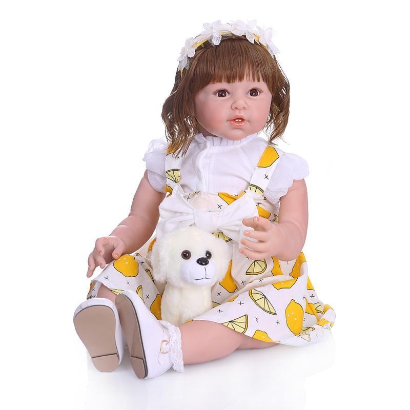 80 cm reborn bambin poupée silicone souple vinyle reborn bébé fille poupée réel doux toucher 28 pouces enfants cadeau jouet poupées