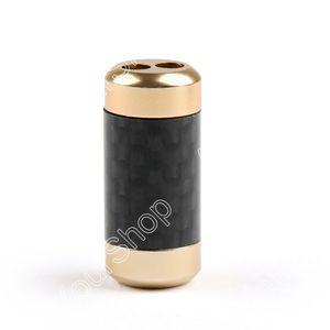 Image 2 - Areyourshop بيع 100 قطعة HiFi ألياف الكربون السراويل التمهيد Y الخائن 1 إلى 2 رئيس كابل RCA الصوت سلك أسود الذهب الفضة