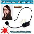 Бесплатная доставка! 5x Беспроводной Микрофон FM Передатчик 87.0 МГц-108 МГц Для Преподавания Тур Усилитель