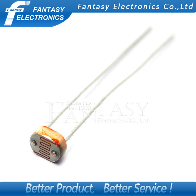 20pcs 5528 light dependent resistor photoresistor resistor 5mm ...