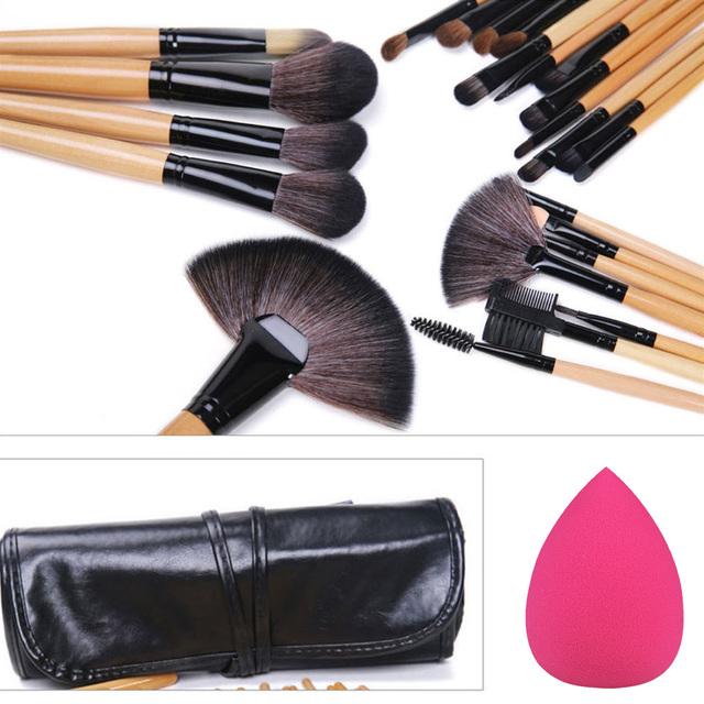 24Pcs Professional Makeup Brushes Kit