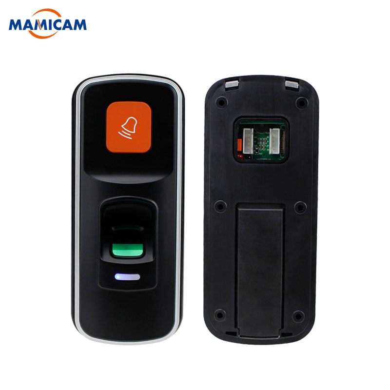 RFID Standalone Fingerprint Lock Access Control Reader Biometric Fingerprint access controller Door Opener Support SD Card fingerprint access control standalone single door controller cheapest standalone keypad finger rfid card zkteco x6 door entry