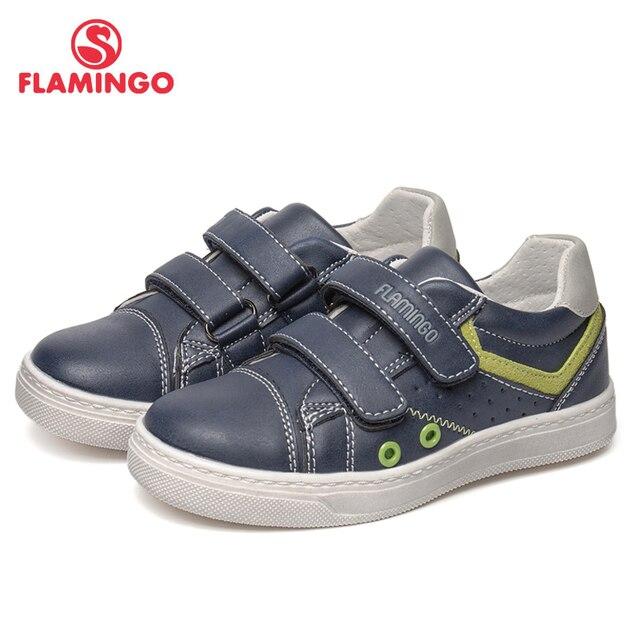 Кеды Фламинго для мальчиков, 91P-SW-1294, вид застежки – липучка, для прогулок и отдыха, размер 25-30.