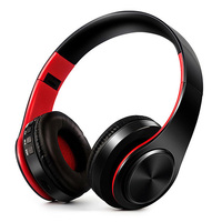 HIFI Stereo Earphones Bluetooth Headphone Music Headset FM And Support SD Card With Mic For Mobile