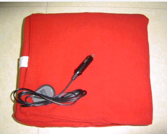 12V Car Automobiles Seat Covers <font><b>Blankets</b></font> heated 100% Polar fleece+150*110 warm body as a hot Fans&heating in car