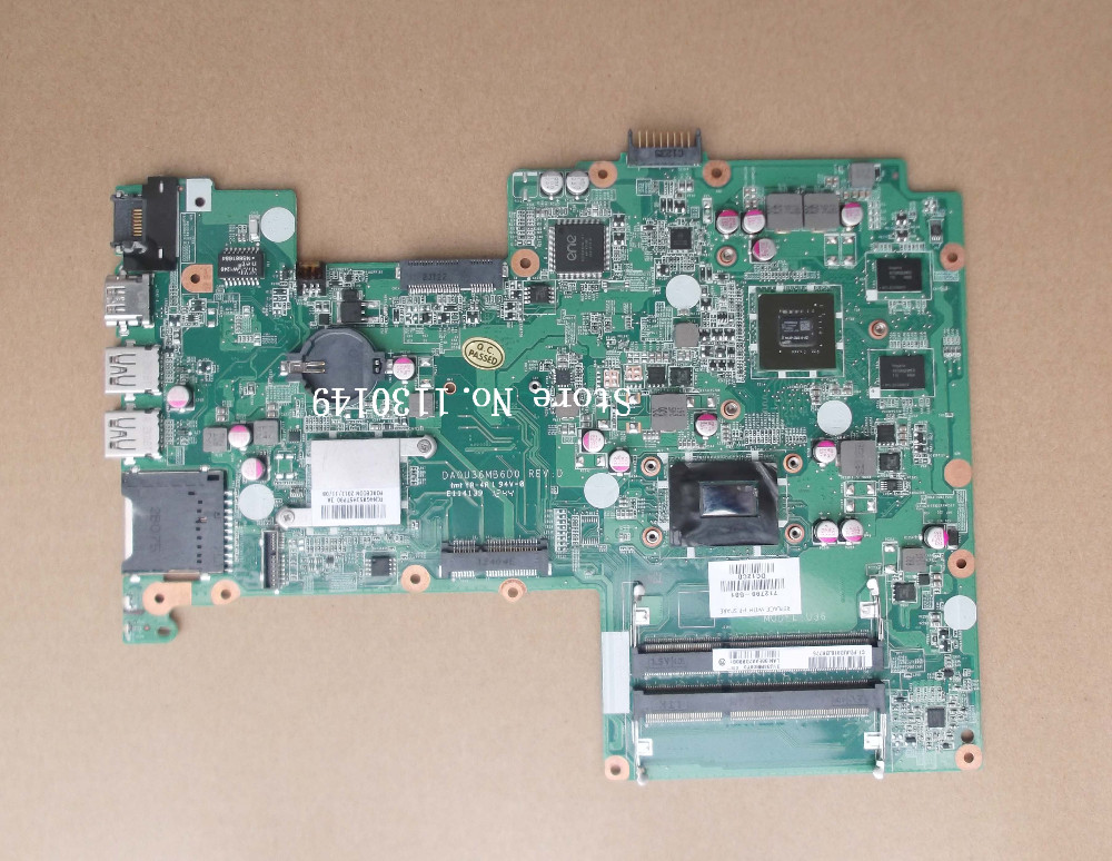 Подробнее о 712799-501 Free shipping 712799-001 laptop motherboard for HP pavilion 15 15T 15-B series motherboard with I5-3337U 630m 2G free shipping 100% tested 737982 501 737982 001 board for hp pavilion 15 15t 15 n 15t n series laptop motherboard