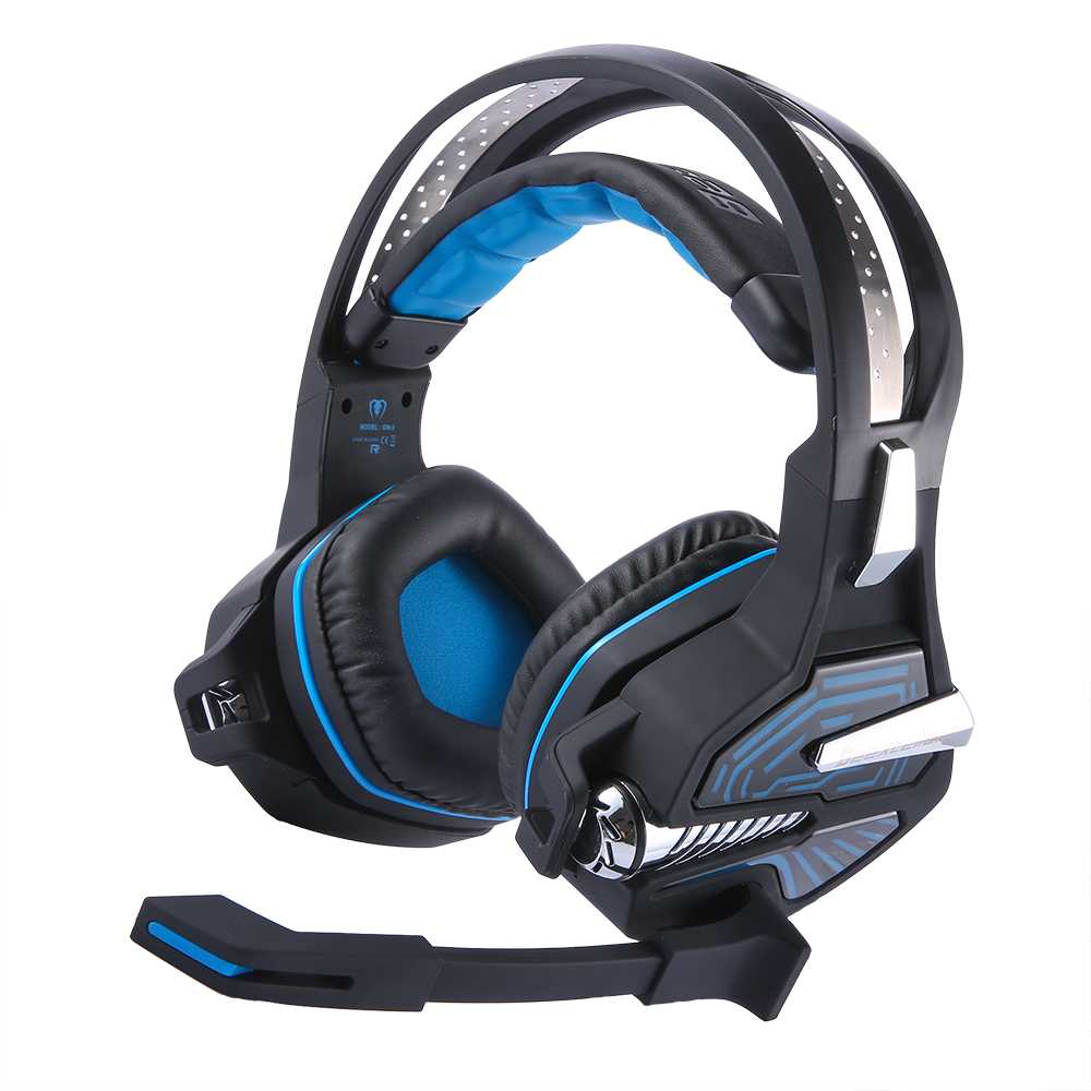 Beexcellent GM-9 Gaming Headset gamer luminous earphones gaming Headphones with microphone LED light vs kotion each g2000 g9000 each g8200 gaming headphone 7 1 surround usb vibration game headset headband earphone with mic led light for fone pc gamer ps4