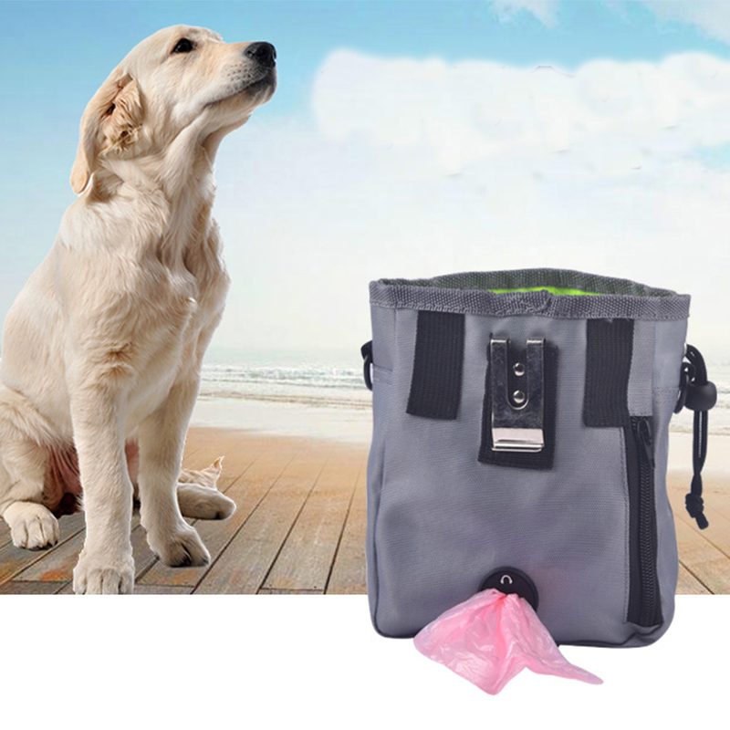 Pet Dog Pouch Dog Training Treat Bags Portable Detachable Doggie Pet Feed Pocket Pouch Puppy Snack Reward interactive Waist Bag7