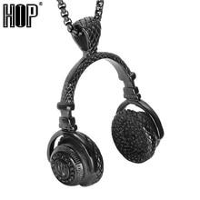 Stainless Steel Headphones Necklaces