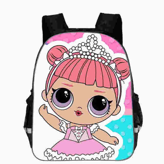 037a4593af LOL Dolls Baby Backpack Animal Anime Cute Casual School Bags Toddlers Boys  Girls Teenager Mochila Gift