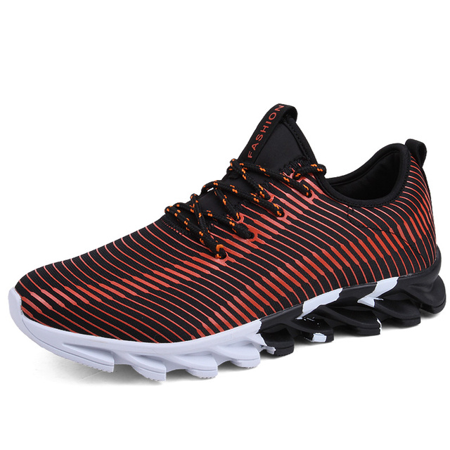 Joomra 2017 New Light Running Shoes For Men Breathable Outdoor Sport Shoes Summer Cushioning Male Shockproof Sole Sneakers
