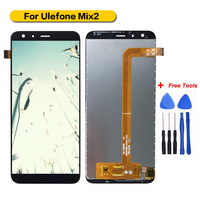 100% Tested For Ulefone Mix 2 LCD Display+Touch Screen Digitizer Assembly Ulefone Mix 2+Tools