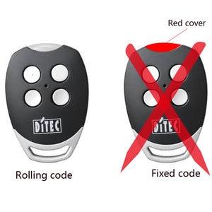 Image 2 - DITEC GOL4 remote control 433mhz roling code gate garage door DITEC 433.92MHz remote control