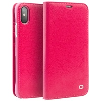 QIALINO For Apple IPhone X Case Classic Genuine Cowhide Leather Cell Phone Cover For IPhone X