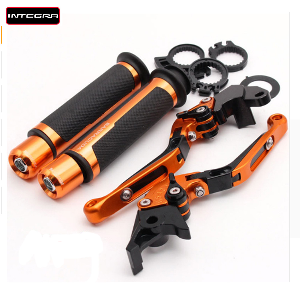 For honda Integra 750 DCT Integra750 2014 2018 2015 2016 Motorcycle Adjustable Folding Brake Clutch Levers