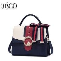 2017 Famous Brand Design Bowknot Shoulder Bag For Girls Preppy Style Luxury Handbag Cute Messenger Bags