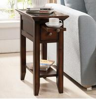 American sofa edge a few European style living room round small square table small round table coffee table side table.
